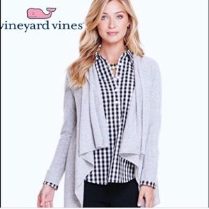 Vineyard Vines Cashmere blend waterfall cardigan